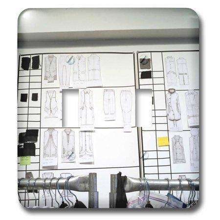 3dRose Robert Geller runway show German-born Geller won the GQ and FCDA Best New Menswear Designers Award - Double Toggle Switch