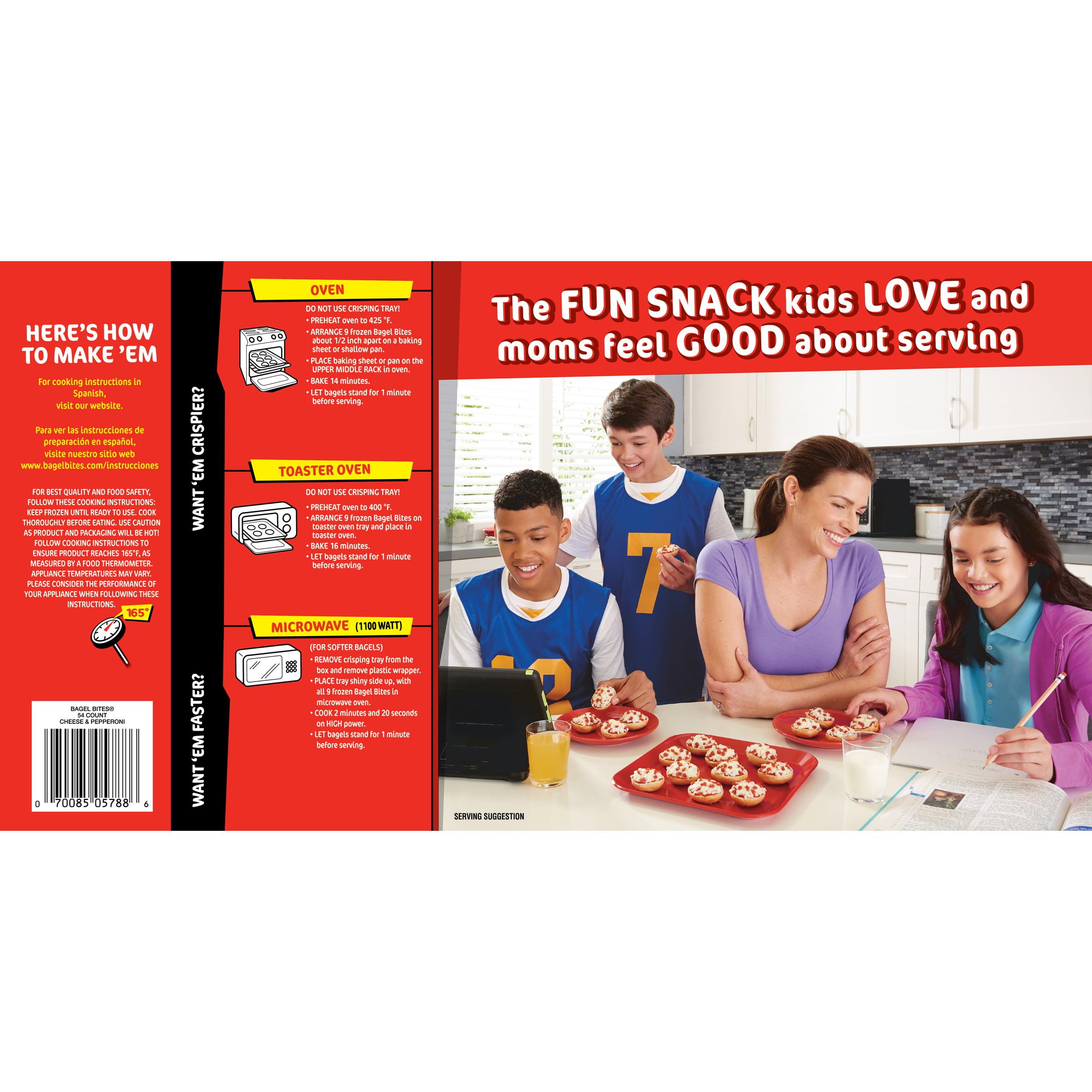 Pizza Bagel Bites Microwave Instructions