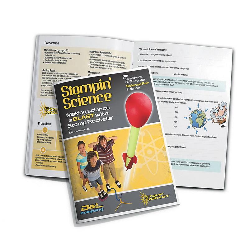 D+L (Price/each)Stomp Rocket Curriculum Science Book