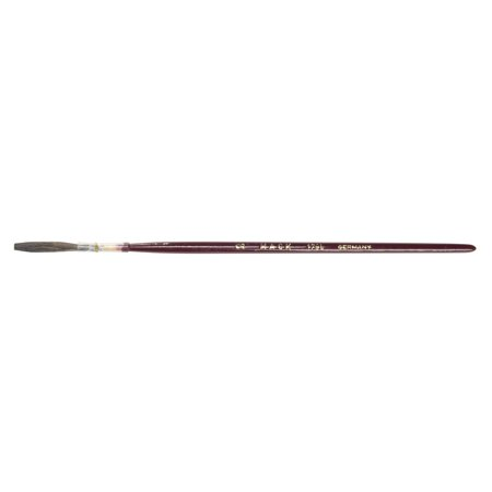 Andrew Mack Brown Kazan Squirrel Hair Lettering Quill Series 179L Size -