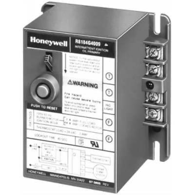 Honeywell R8184G4009 Protectorelay Oil Burner Control Intermittent Igni