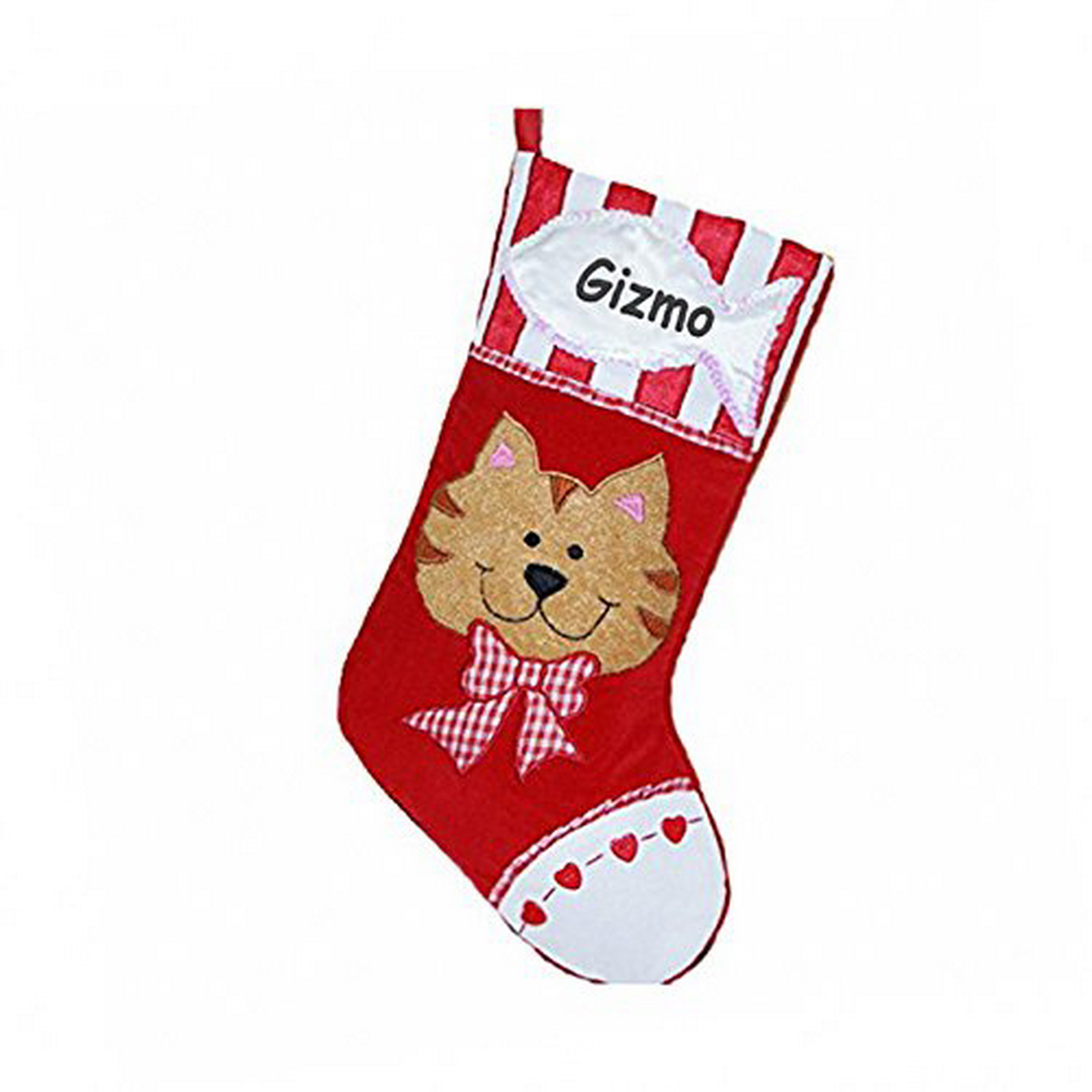 Purr-sonalized Cat Stocking (CUSTOM)