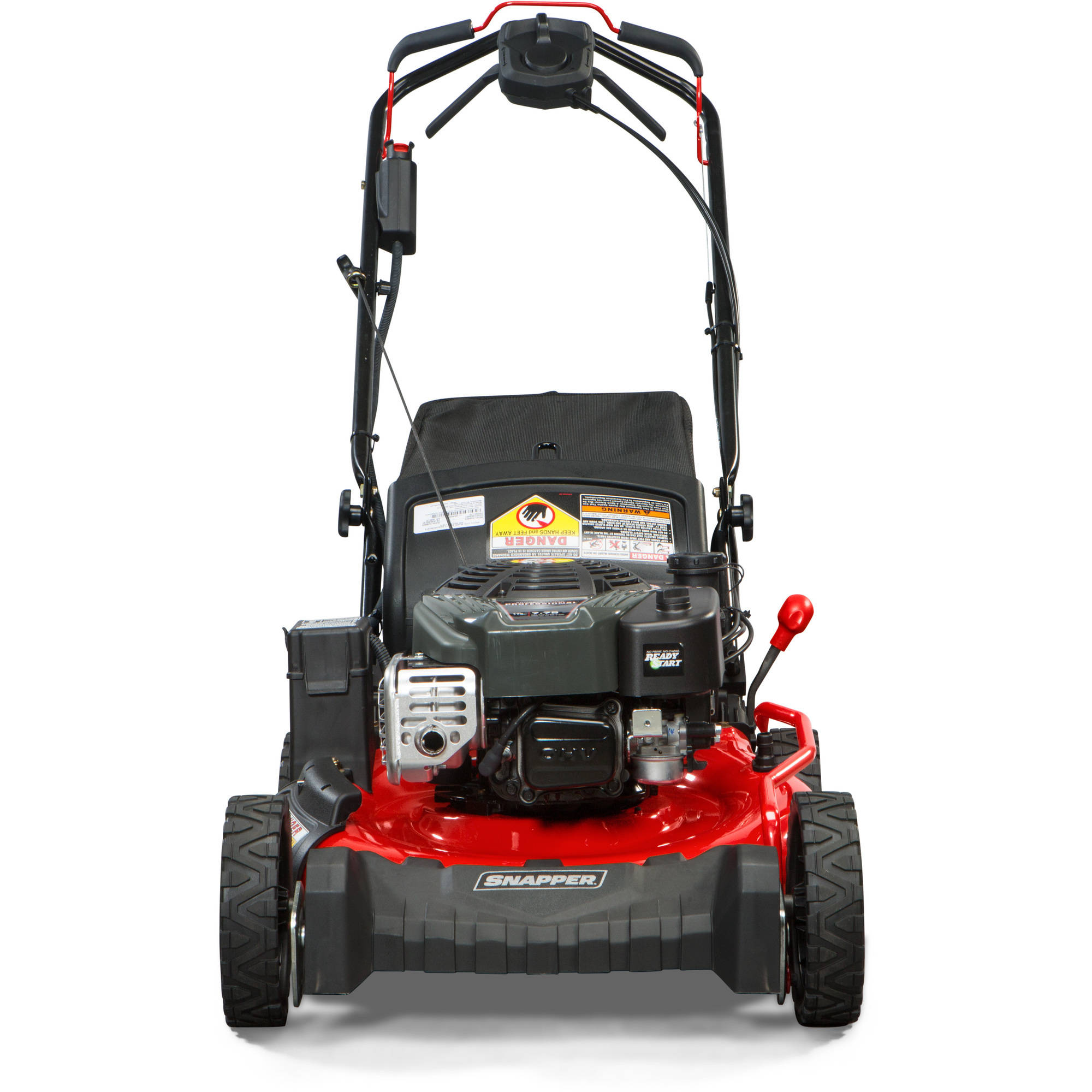 Snapper 21 Self Propelled Gas Rear Wheel Drive Mower With Side Walk Behind Wiring Diagram Discharge Mulching Bag And Electric Start