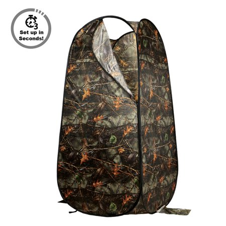 Pop Up Shower Tent (Loadstone Studio Portable Privacy Outdoor Pop-up Room Tent Camping Shower Toilet Beach Park , Burly Camo ,)