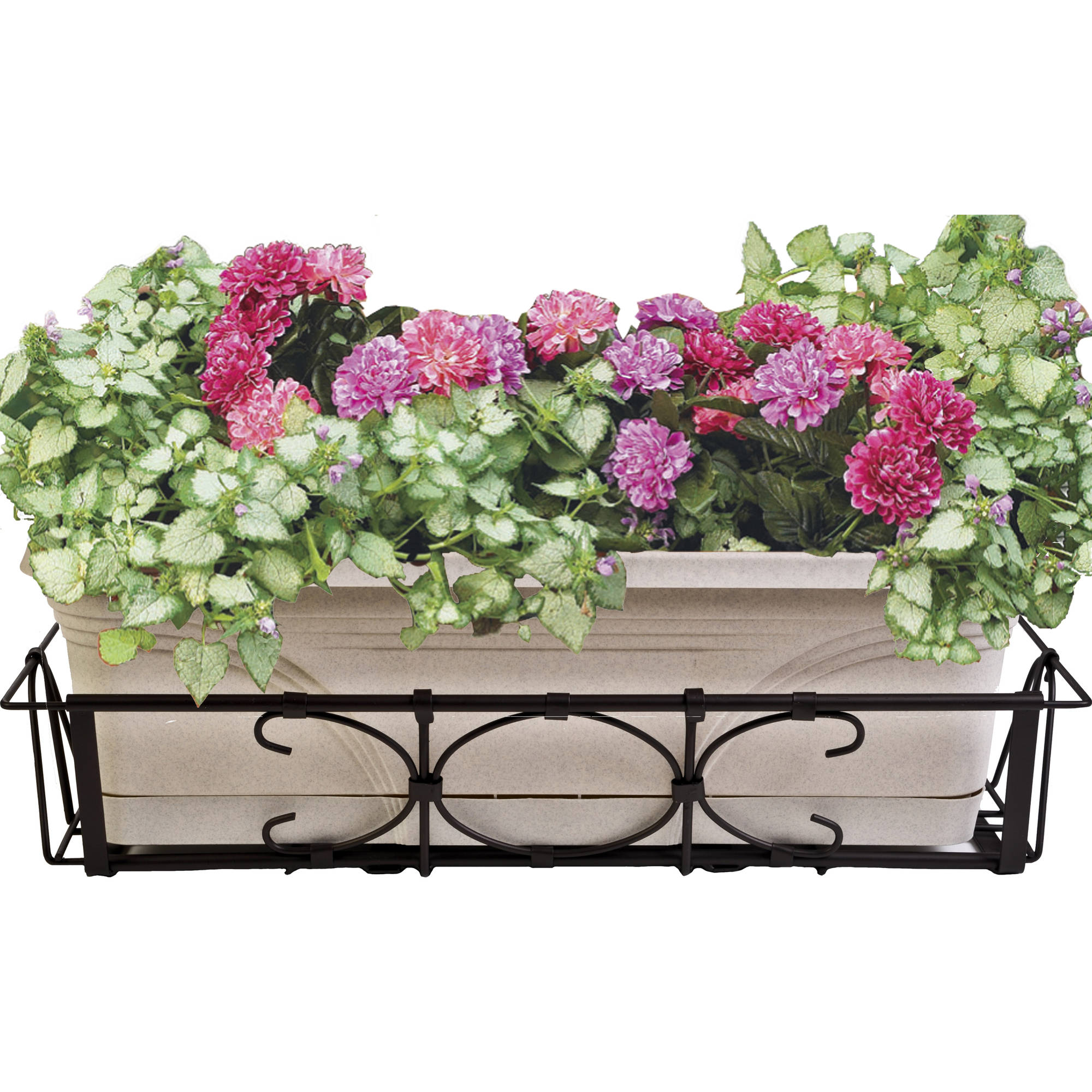 Cobraco Kingston Adjule And Expandable Bronze Flower Box Holder