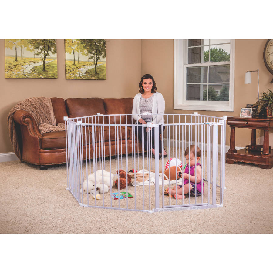 Extra Wide Baby Gate Playard 192 Quot With Walk Through Door