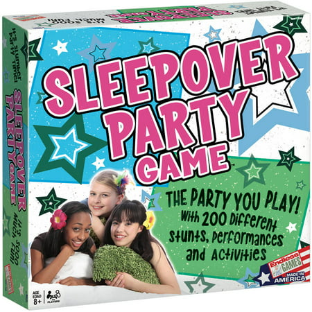 The Sleepover Party Game - Halloween Party Homemade Games