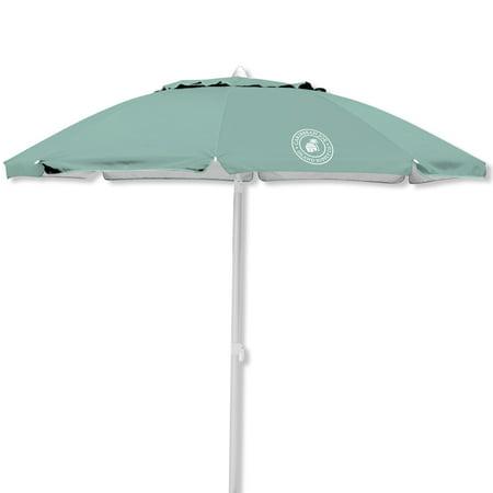 Caribbean Joe 7' Tilting Double Canopy Beach Umbrella with Case