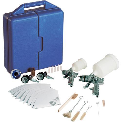 Campbell Hausfeld 34-Piece Gravity Feed Spray Gun Kit
