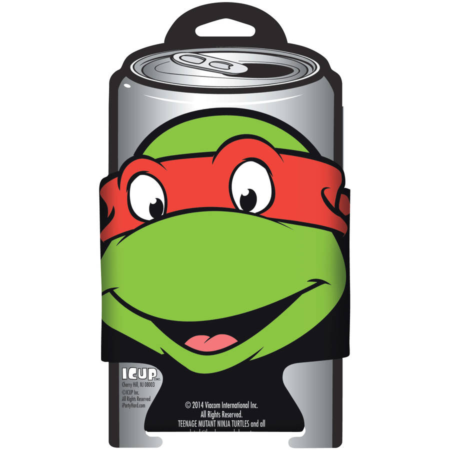 TMNT Raphael Character Diecut Can Cooler