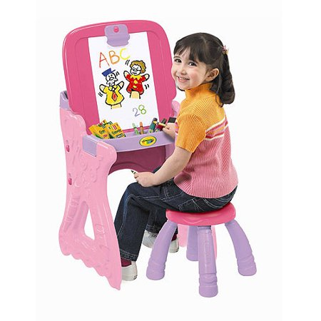 Crayola Play 'N Fold 2-in-1 Art Studio Easel](Art Easel For Kids)
