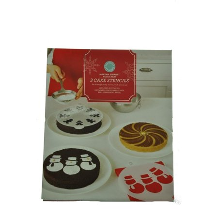 Martha Stewart Collection 3 Cake Stencils-Holiday Themed (Best Halloween Crafts Martha Stewart)