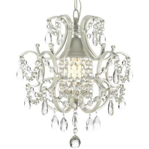 Everything Home Versailles 1 Light Crystal Chandelier