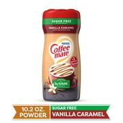 COFFEE MATE Sugar Free Vanilla Caramel Powder Coffee Creamer 10.2 Oz. Canister
