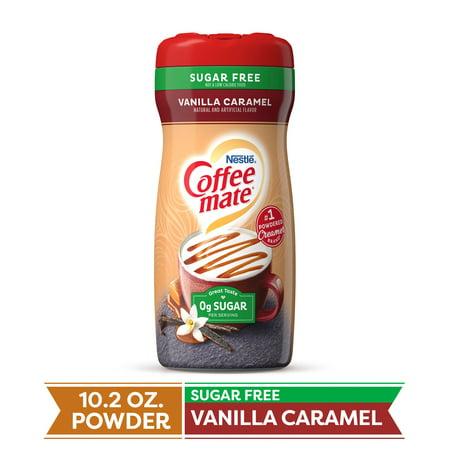 (3 pack) COFFEE MATE Sugar Free Vanilla Caramel Powder Coffee Creamer 10.2 oz. Canister