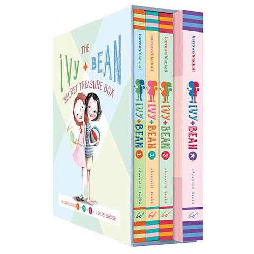 Ivy + Bean Secret Treasure Box: Books 1, 2, and 3 and a Cool Secret Surprise!