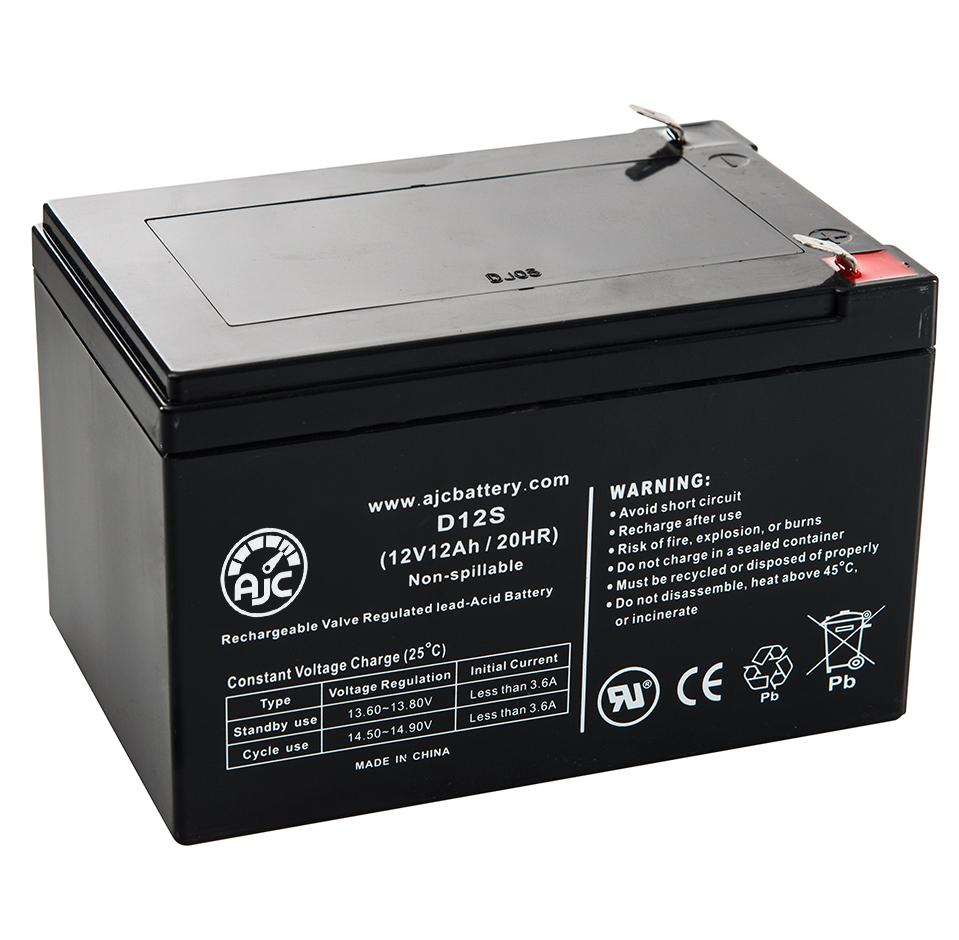 This is an AJC Brand Replacement Vision CP12200 12V 18Ah UPS Battery