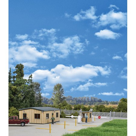 Shack Kit (Walthers Cornerstone HO Scale Building/Structure Kit Modern Security Guard Shack )