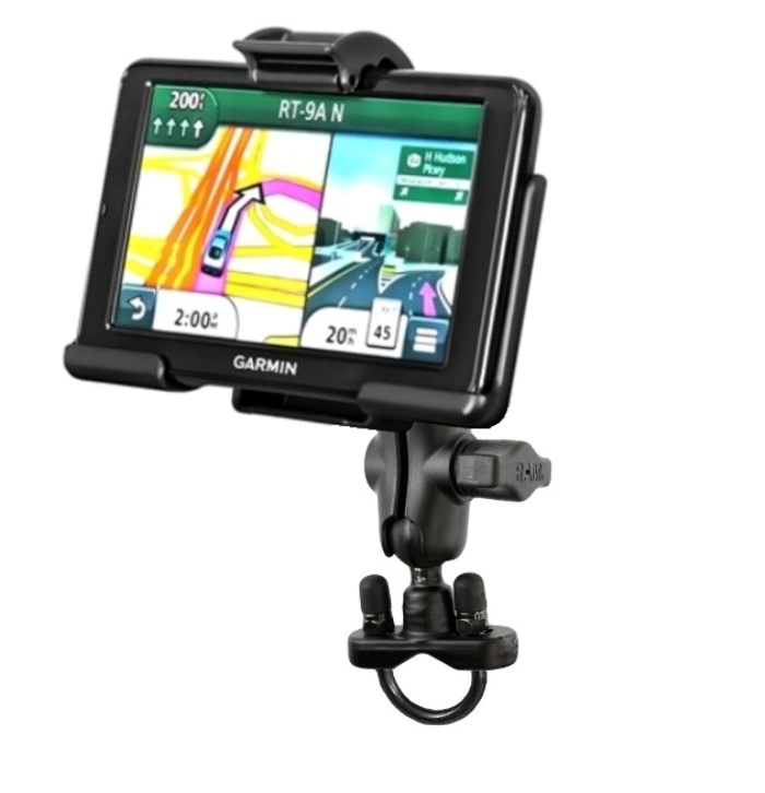 RAM Bike Motorcycle Short Arm Mount fits Gps Garmin nuvi ...