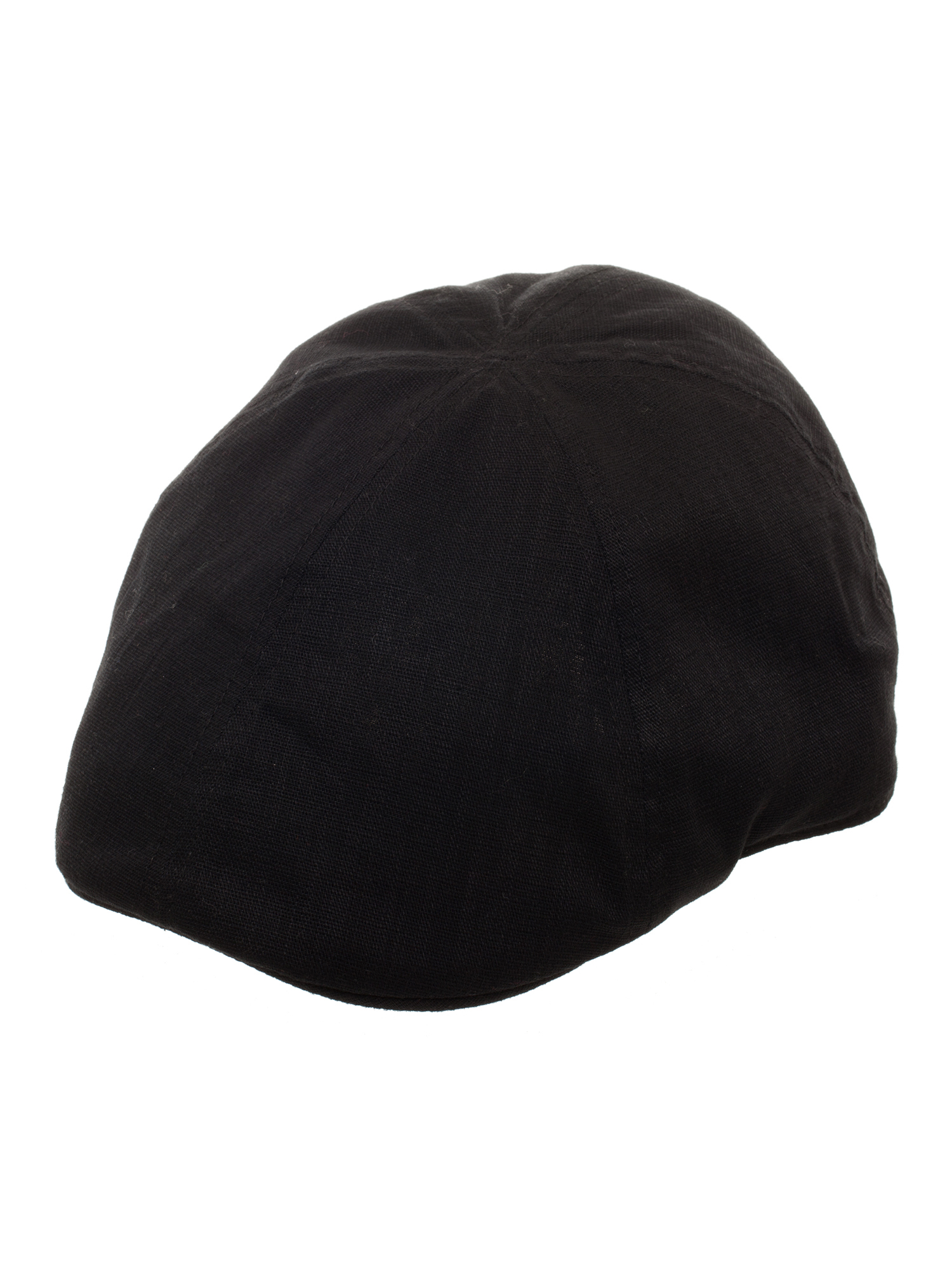 Men's Solid Black Ivy Driver Cap