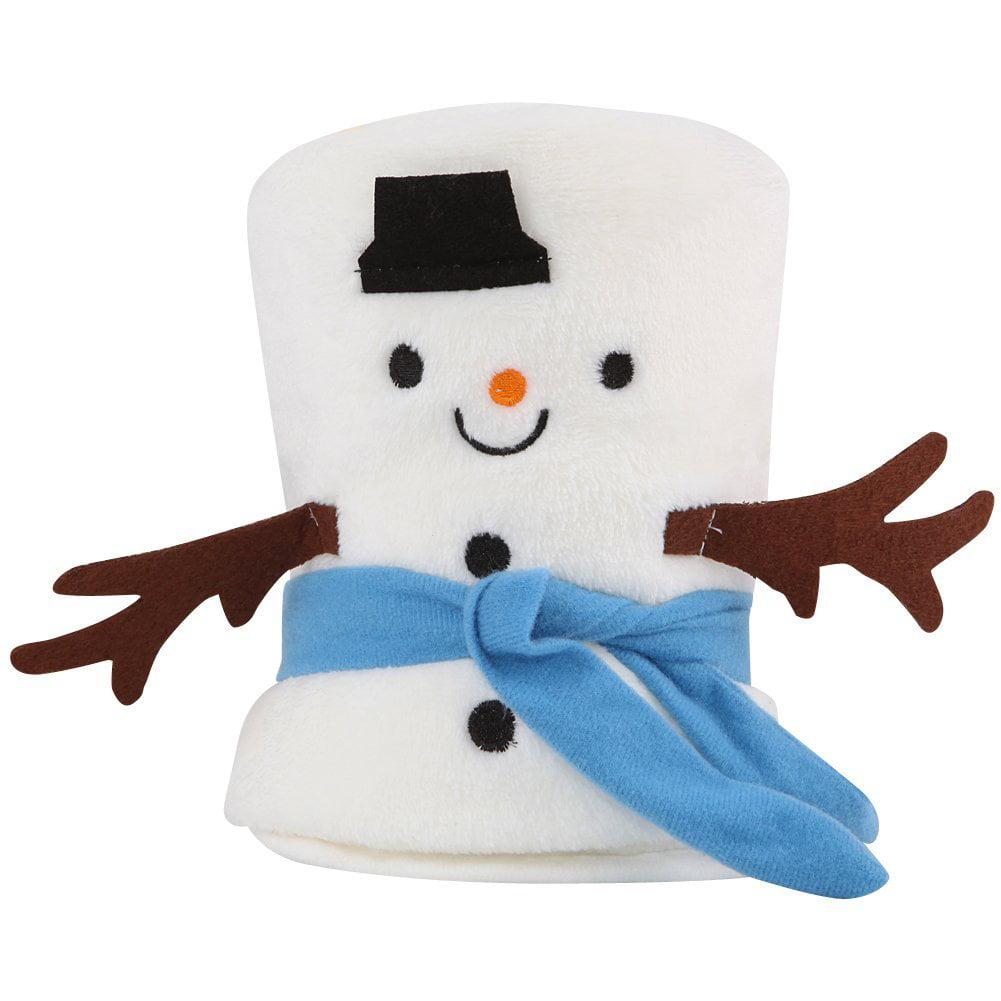 Xmas Sleeping Blanket Cute Gift Santa Claus Snowman Elk a...