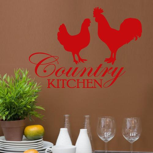 Decal the Walls Vinyl 'Country Kitchen' Wall Quote Graphic Decal