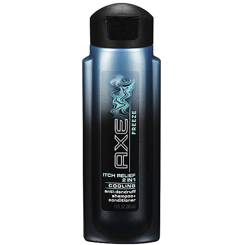 Axe Freeze Itch Relief 2 In 1 Cooling Anti-Dandruff Shampoo   Conditioner - 12 Oz