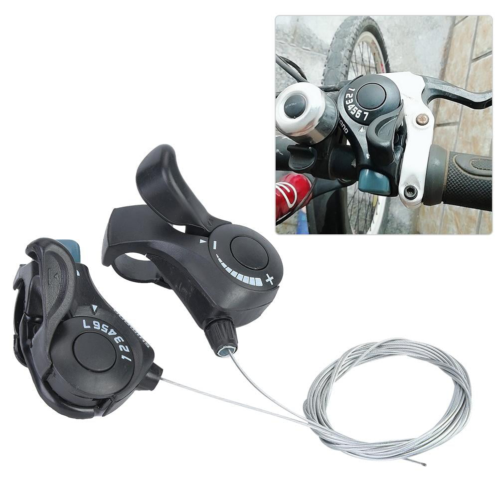 1 Pair Bicycle Gear Shifters Safety Mountain Bike Derailleur Bicycle Parts Gift