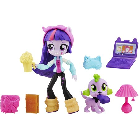 My Little Pony Equestria Girls Minis Twilight Sparkle Slumber Party Set (My Little Pony Twilight)