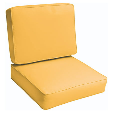 Mozaic Company Fresco Outdoor Corded Chair Cushion Set ()
