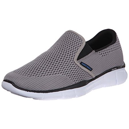 Skechers Sport Men's Equalizer Double Play Slip On Loafer, Gray, 9 M US