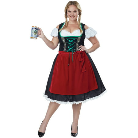 Oktoberfest Fraulein Plus Size - Plus Size Cosplay Costumes For Sale