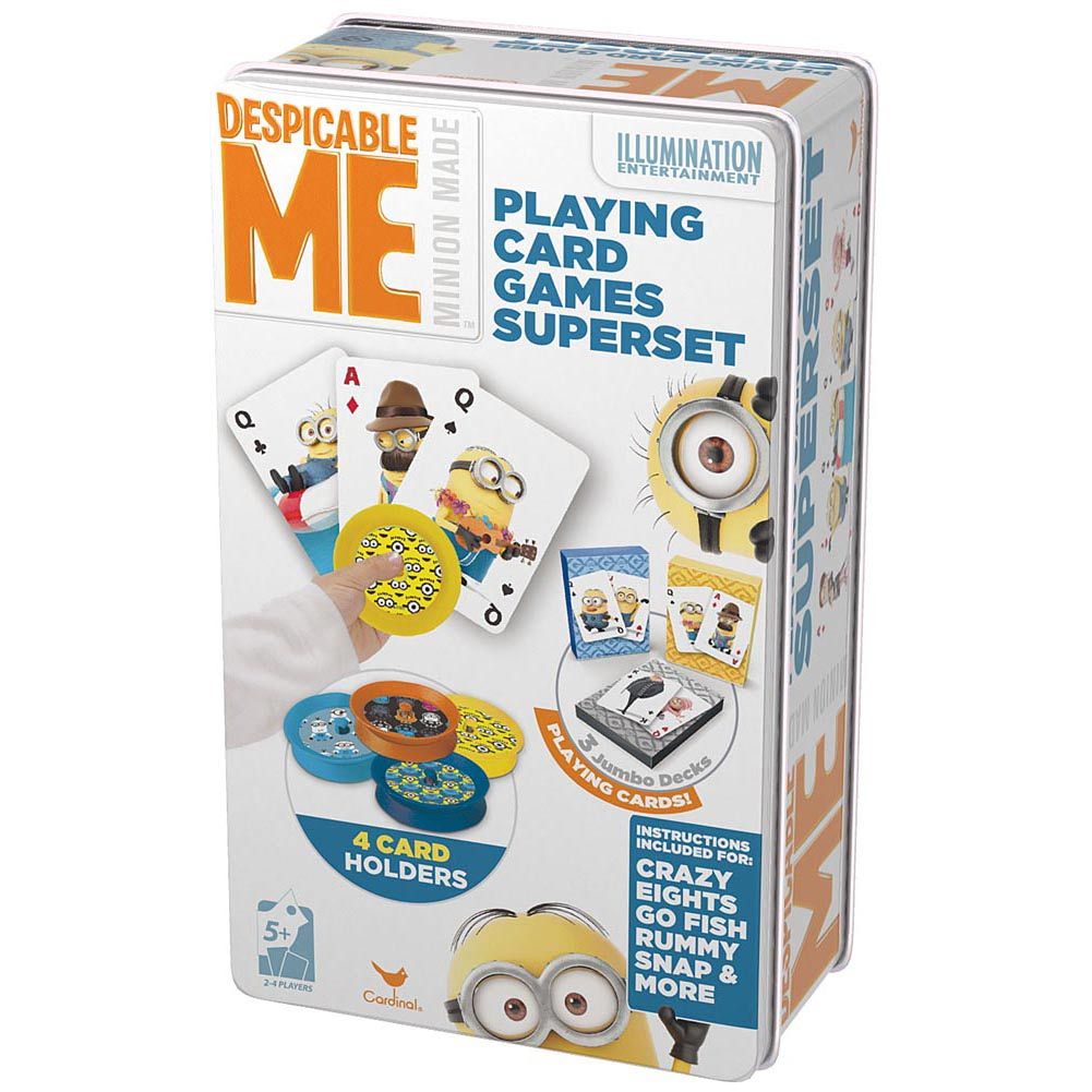 Despicable Me Jumbo Playing Card Superset