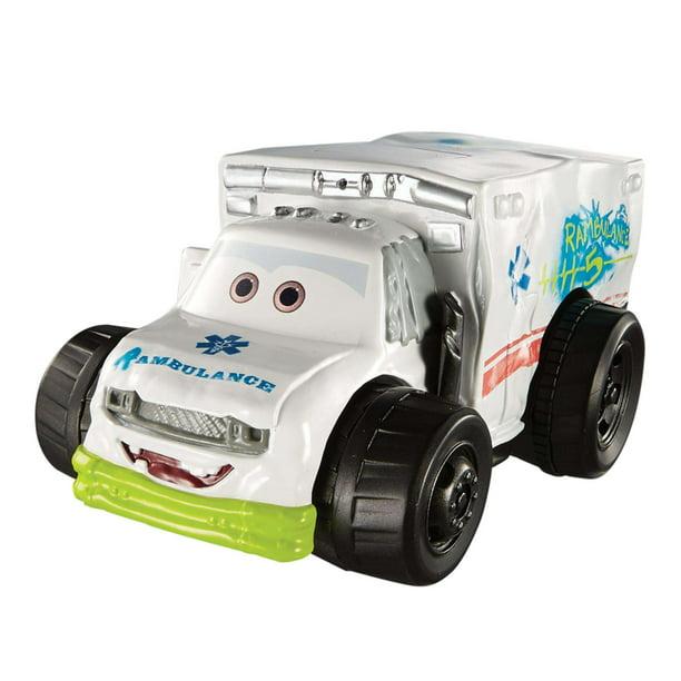 Disney Pixar Cars 3 Splash Racers Dr Damage Vehicle Walmart Com