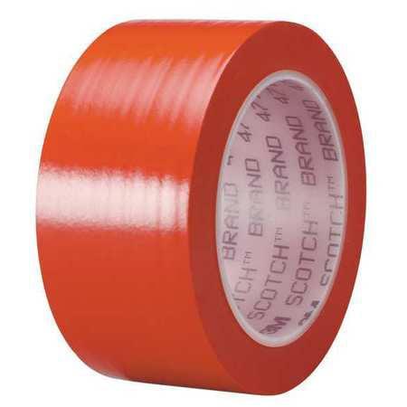 "Red Floor Marking Tape, 3M, 4711""W"