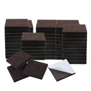 """60pcs Felt Furniture Pads Square 1 1/8"""" Floor Protector for Table Chair Leg"""