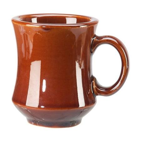 Vertex China NPT-C Brown Accessories Caramel Newport Mug, 3-1/4