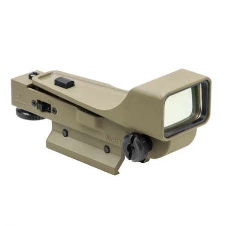 NcStar Aluminum Dot Sight/Red/Gen II (Best Red Dot Sight Airsoft)