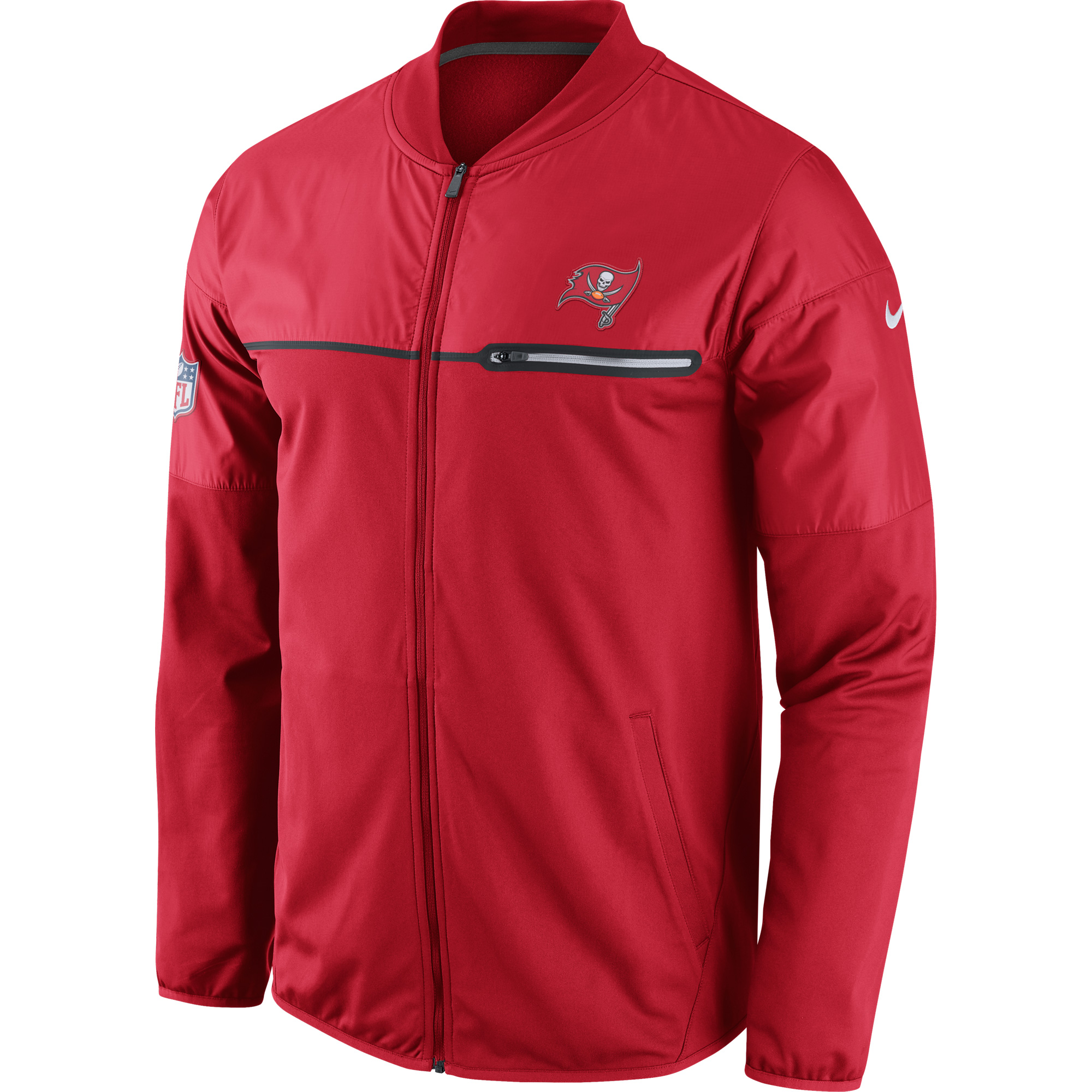 Tampa Bay Buccaneers Nike Elite Hybrid Performance Jacket Red