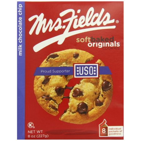 Mrs. Fields, Milk Chocolate Chip Soft Baked Cookies (Pack of - Cookies And Milk