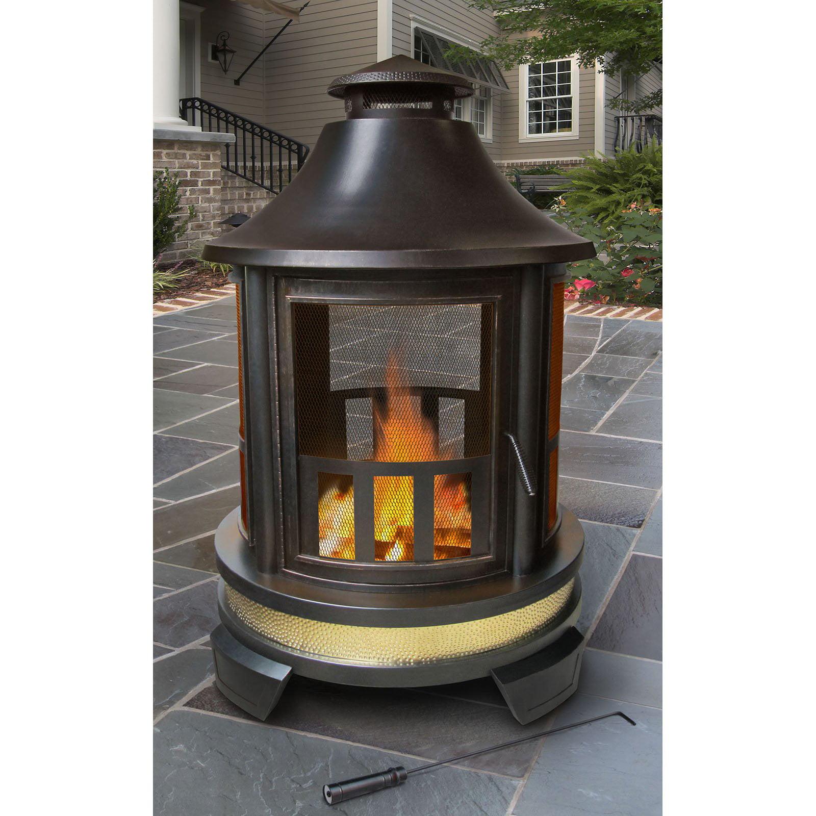 landmann hartford outdoor fireplace walmart