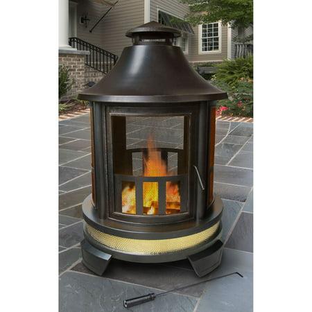 Landmann Hartford Outdoor Fireplace Walmart Com