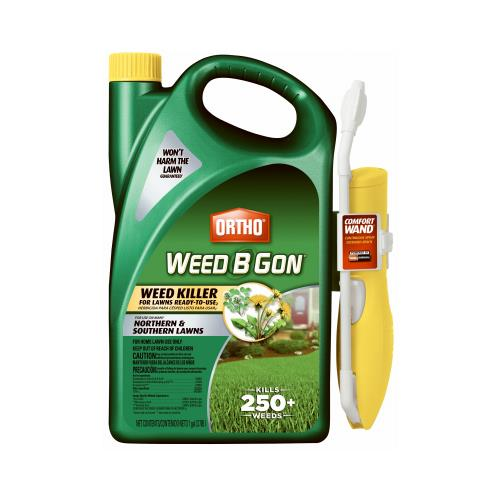 Scotts Ortho Roundup 0193210 Weed B Gon Lawn Weed Killer, Ready-to-Use, 1-Gal. Wand Spray
