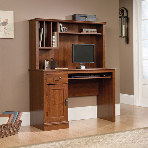 Sauder Camden County 43.5'' W Computer Desk with Hutch