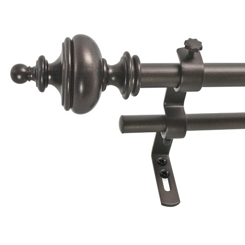 Click here to buy Alcott Hill Ethelyn Double Curtain Rod and Hardware Set.