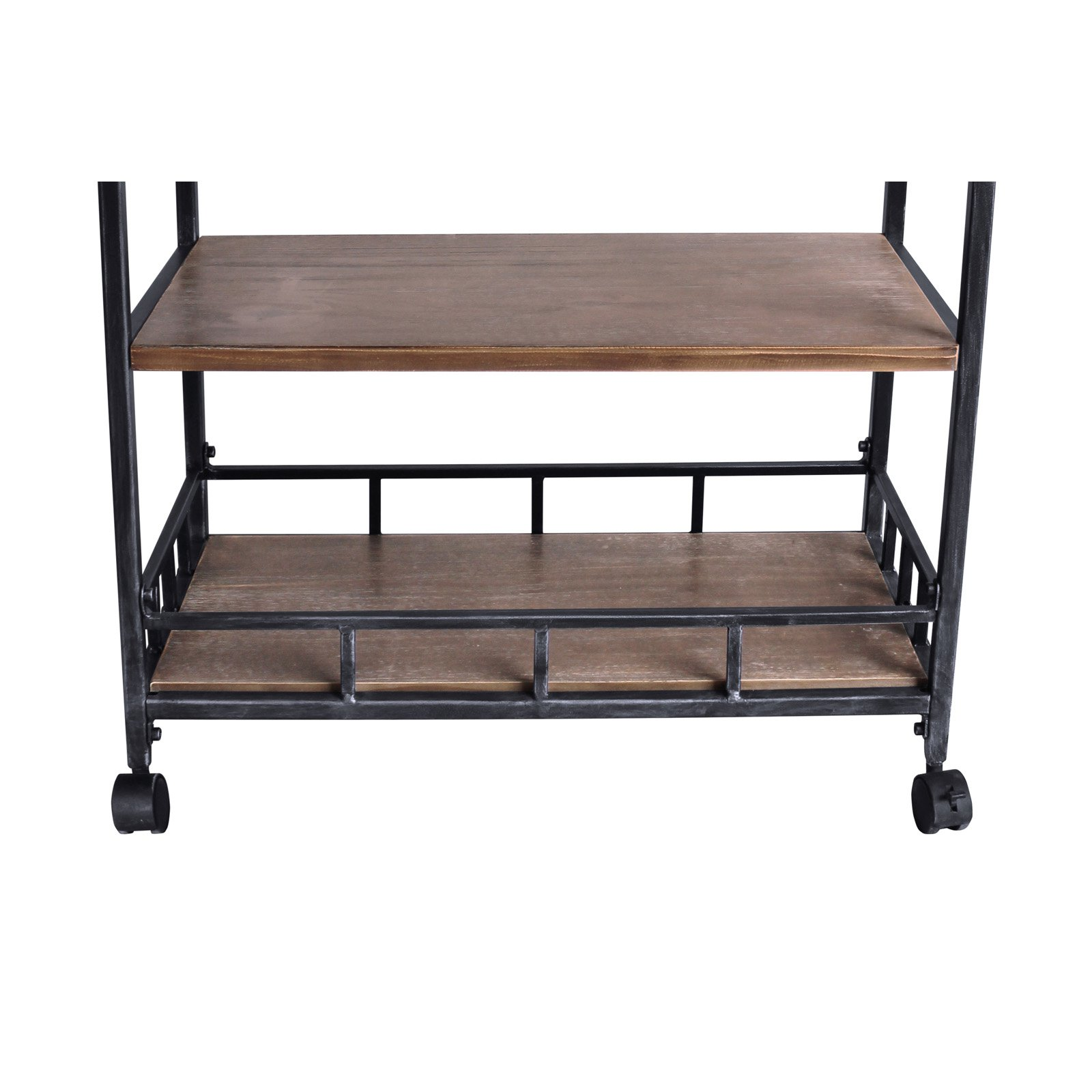 Home Chic Dublin Portable Industrial Kitchen Cart
