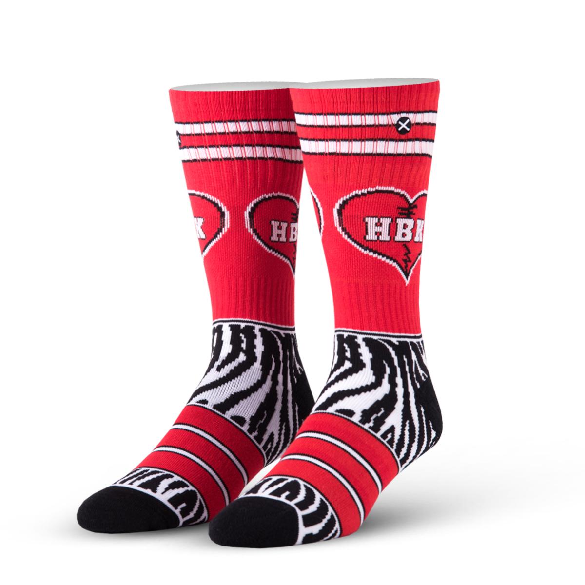 Odd Sox WWE The Heartbreak Kid Crew Socks, 6-13