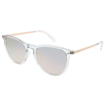 Fossil 3078/S 900 0J Unisex Round Sunglasses