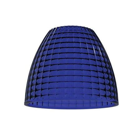 Aperture Wall Light - Jesco Lighting AP06S01BU 6 in. Aperture Pendant or Wall Sconce, Cobalt Blue