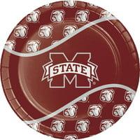 Mississippi State University Paper Plates, 8pk